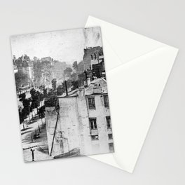 Boulevard du Temple Daguerreotype Stationery Cards