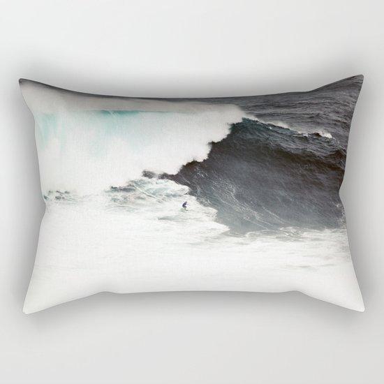 Surf wave sea 6 Rectangular Pillow