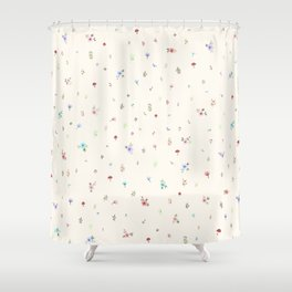 Pretty and Sweet Florals Shower Curtain
