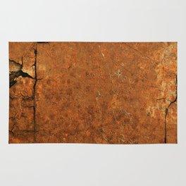 Orange Dream;  Vintage Old School Series Rug