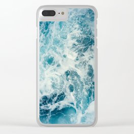 Washing Over Me Clear iPhone Case