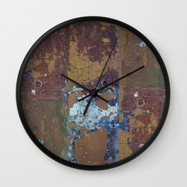 Completely Cracked Wall Clock