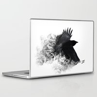 crow Laptop & iPad Skins featuring crow by Cardinal Design
