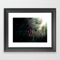 Wait a Green Time Framed Art Print