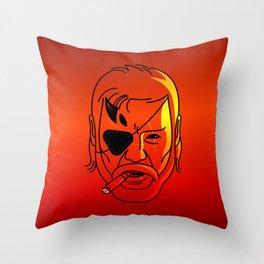 Big Boss Throw Pillow