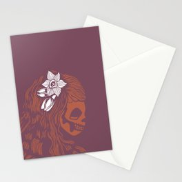 Death Becomes Hair Stationery Cards