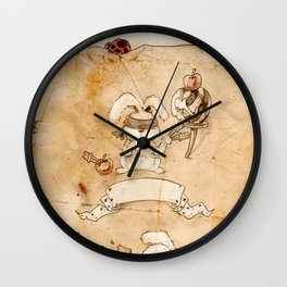 HEAD HUNTING- II Wall Clock