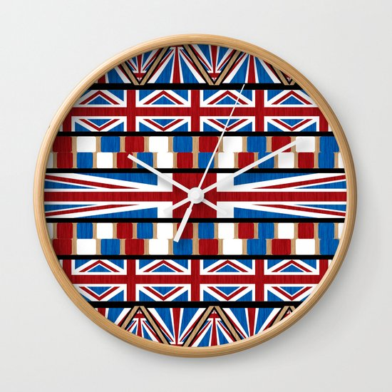 This Is England Wall Clock