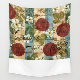 Parisienne Roses Wall Tapestry