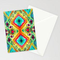 Ikat V Stationery Cards