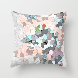 Mermaid Cells  Throw Pillow