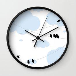 Hanging Around Wall Clock