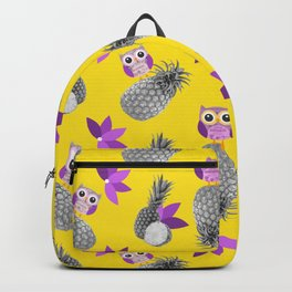 Owls likes pineapple! Backpack