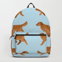 Golden Retriever Love Backpack