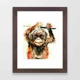 Pongo Framed Art Print