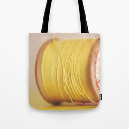y is for yellow Tote Bag