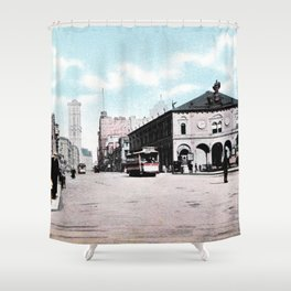 ca 1900 Herald Square New York City Shower Curtain
