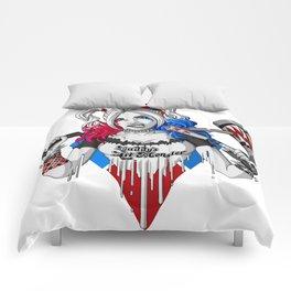 Harley Quinn Armed Comforters