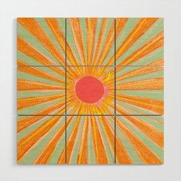 Sun In The Sky 2 Wood Wall Art