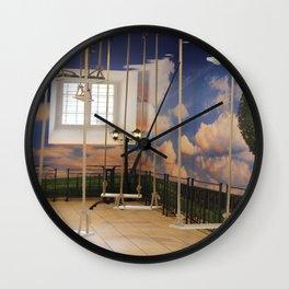 Swings and Dreams Wall Clock