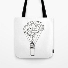 Light up my brain Tote Bag