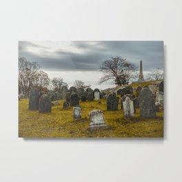 Old Burial Hill, Salem, MA Metal Print