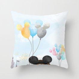 Dreams Do Come True Throw Pillow