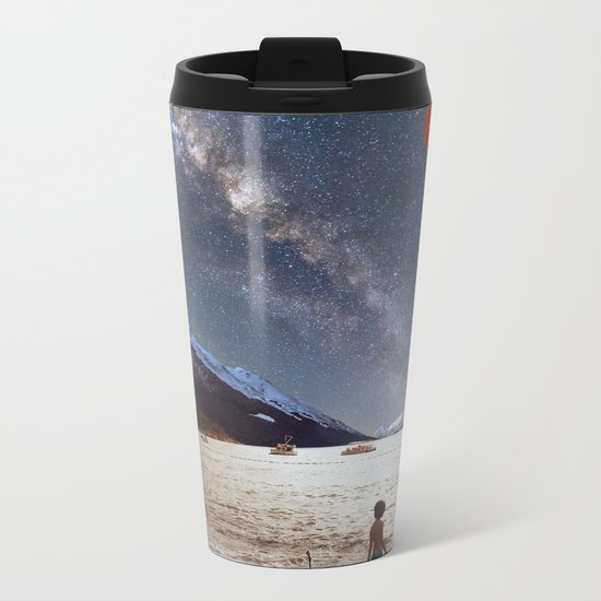 Red Planet Metal Travel Mug