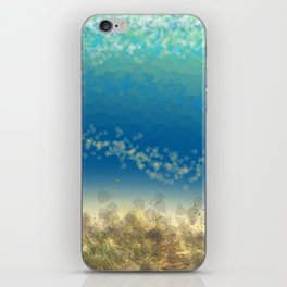 Abstract Seascape 04 wc iPhone Skin