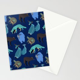 Forest Animals Stationery Cards