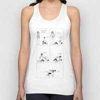charlie Tank Tops featuring charlie by aboutchopsuey