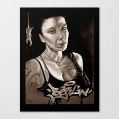 BERLIN - Kitty Kill - dark version Canvas Print