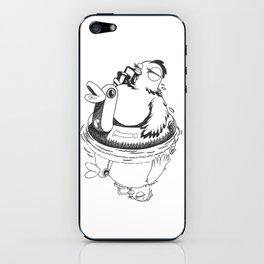 Swimming Poule iPhone Skin