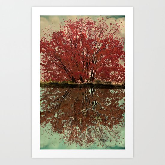 Landscape ~ Reflection Art Print