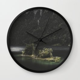 Island Love - Landscape Photography Wall Clock