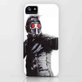 Star-Lord (Peter Quill) Guardians Graffiti Pop Urban Street Art iPhone Case