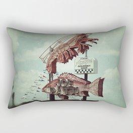 Crawdaddy Rectangular Pillow