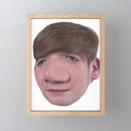 Influencer Mongraal Lovely Smart Guy Big Presence Panorama Framed Mini Art Print