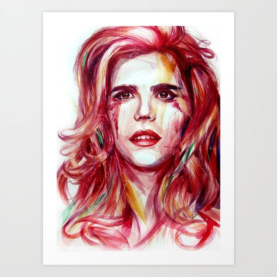 Paloma Faith Art Print