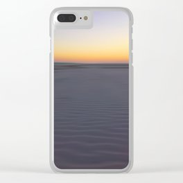 Hilton Head Island Ripples Clear iPhone Case