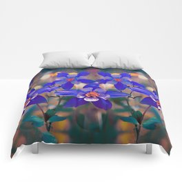 Colorado State Flower Comforters