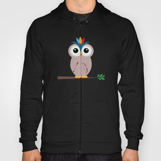 Be brave with owl Hoody