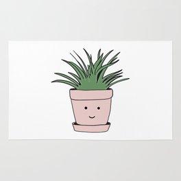 Smiling flowerpot Rug