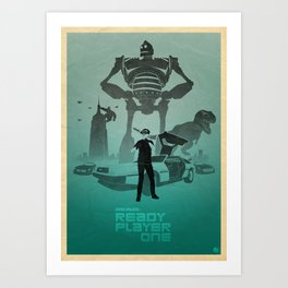 Steven Spielberg's RP1 Art Print