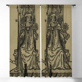 Queen Of Wands Blackout Curtain