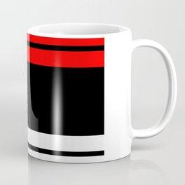 TEAM COLORS 2.....red,black Coffee Mug