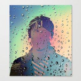 J Spaceman Portrait 03 Canvas Print