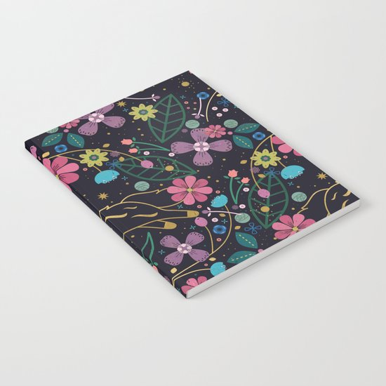 Forest Cat Notebook