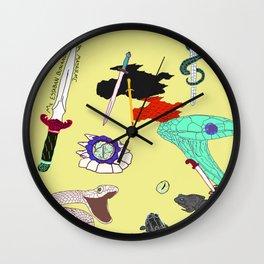 Collab - DaggerSnakes Wall Clock