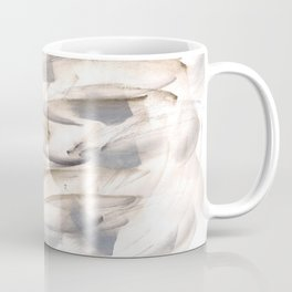 180630 Grey Black Brown Abstract Watercolour Neutral 23 | Watercolor Brush Strokes Coffee Mug